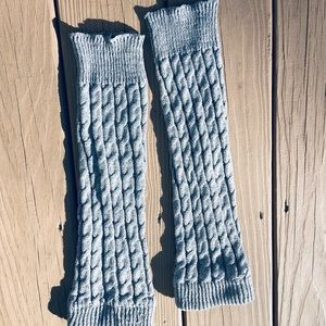 Leg warmers boot covers knitted